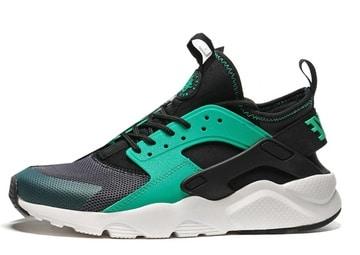 Nike Huarache Negras y Verdes