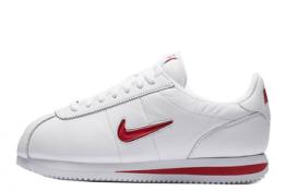 Nike Cortez Classic de piel Blancas y Rojas
