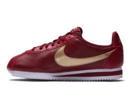 Nike Cortez Classic de piel Granates
