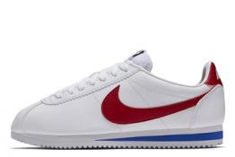 Nike Cortez de piel Blancas