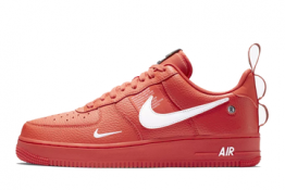 Nike Air Force 1 07 Lv8 Utility Rojo