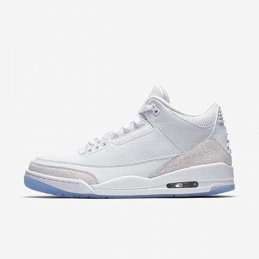 Nike Air Jordan 3 Blancas